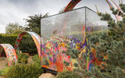 Parabolic Arch – RHS Spring Show, Malvern